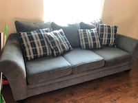 Couch and love seat with pillows Riverside, 92505