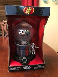 Star wars jelly belly dispenser death star, NIB priced to sell