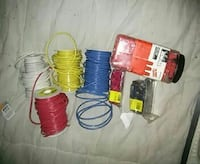 assorted-color coated wires 3148 km