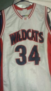 Arizona Wildcats basketball jersey