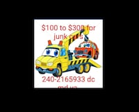 We buy junk cars Hyattsville, 20783