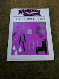 Miquon math lab materials the purle  workbook Portage, 46368