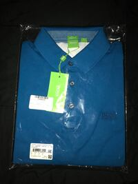 blue and green polo shirt Doral, 33178