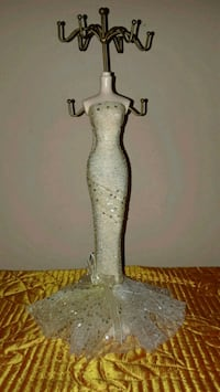 Dress Jewelry Display Stand, Jewelry Holder