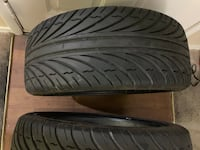 Size: 225/40ZR18 Only 2 tires brand keter Las Vegas, 89123