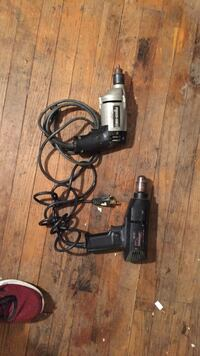 Black and gray corded power drill Overland Park, 66204