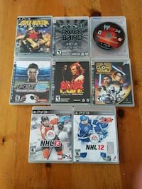 8 PS3 GAMES  Maple Ridge, V2W 2B4
