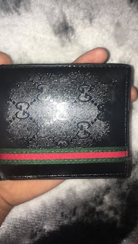 black and red leather bi-fold wallet Centreville, 20120