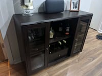 Wooden Bar Cabinet Baltimore