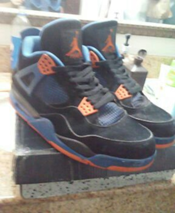 timeless design e5119 fc8ac Jordan Cavs 4s knicks