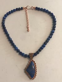 Mine Finds by Jay King Lapis Lazuli Beaded Necklace with Pendant  Baldwin Park, 91706