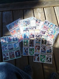 assorted baseball trading card collection Pitt Meadows