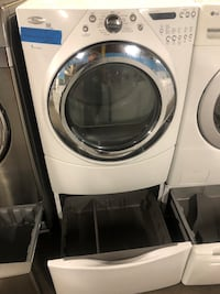 Whirlpool front load steam electric dryer