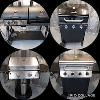 4 working grills can be test before purchase