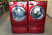 LG front load washer and dryer set 10%off Reisterstown, 21136