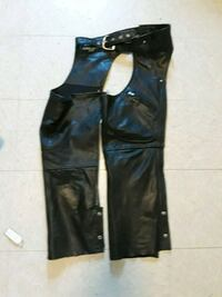 Motorcycle Leather Chaps for women 39 km