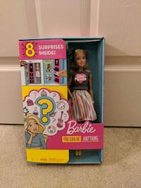 New You Can Be Anything Barbie (Comes With 8 Surprises) Frederick, 21702
