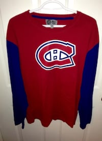 Montreal Canadiens Long Sleeve T shirt Size LXL 539 km