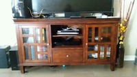 brown wooden TV hutchs a welcome table Mandeville, 70448