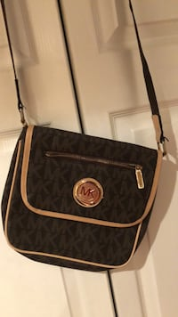 black and brown Michael Kors sling bag Alexandria, 22310