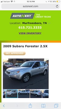 used subaru forester 2009 for sale in christiana letgo. Black Bedroom Furniture Sets. Home Design Ideas