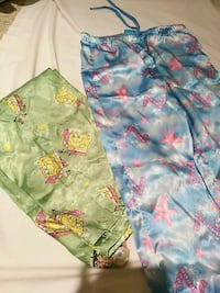 Girls sayin pajama pants-size large Surrey, V4N 5C7