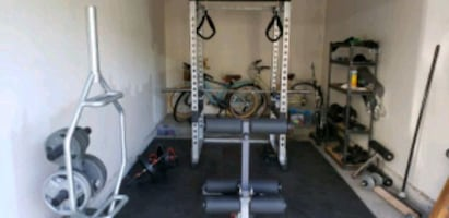 Body Solid Power Rack and Bench