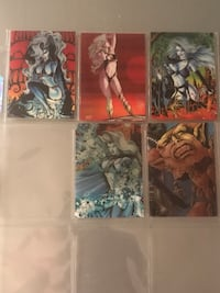 5 Lady Death Chase Cards Livermore, 94551