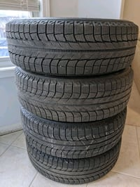 225 65 17 Michelin Latitude XIce winter tires on rims Markham, L6B 1L5