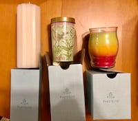NEW PartyLite Candles (set of 3) Calgary, T3K 6L5