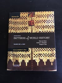 Patterns Of World History Sources Textbook Coquitlam, V3J