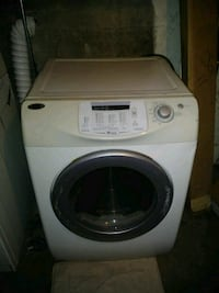 white and gray front-load washing machine Wilkes-Barre, 18702