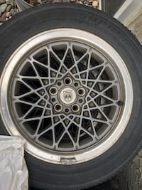 Tires P205/60R15 and fiero rims
