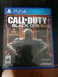 PS4 COD Black ops 3 Mississauga, L5W 1Y8