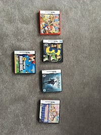 Assorted Nintendo Ds games 564 km
