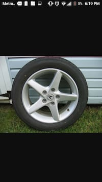 Used To Acura RSX Type S Wheels For Sale In Knoxville Letgo - Acura type s rims