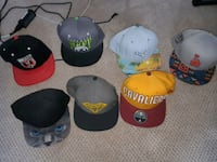 Snapback hats each has different prices Langley, V2Y 1X6