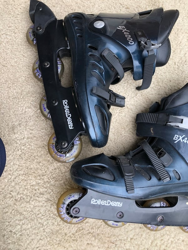 Men's size 11 Roller blades Bx 4000 by RollerDerby 98b750dc-2ac2-40a0-996c-625003be99f0