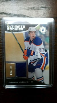 Connor McDavid Ultimate Rookies 2015-16 Spruce Grove, T7X