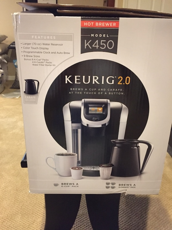 Keurig NEW IN BOX 794c4a2c-be04-4546-aca6-7a63a82f6341