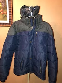 Blue and Grey winter jacket(size S) Toronto, M3H 5S3