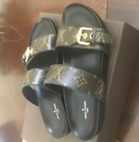 louis vuitton 2 strap sandal with dust bag Hollywood, 33023