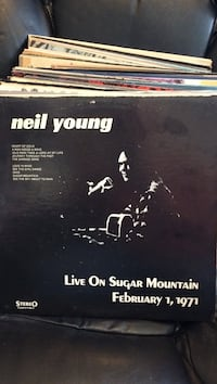 Neil Young- Live On Sugar Mountain LP!!