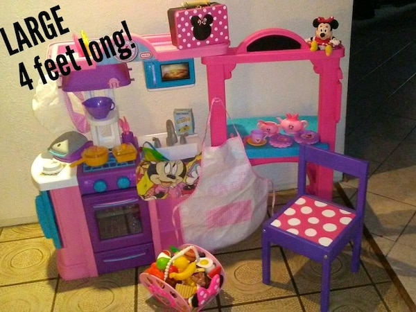 Used Minnie Mouse Themed Kitchen For Sale In Tacoma Letgo