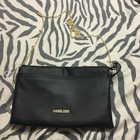 Brand new crossbody bag with gold strap