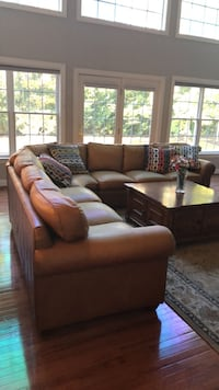 brown fabric 3-seat sofa Ashburn, 20147