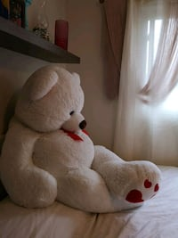 teddy bear red and white perfect Valentine's gift London, N6G 3V4