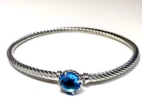 David Yurman Chatelaine Blue Topaz Bracelet New York