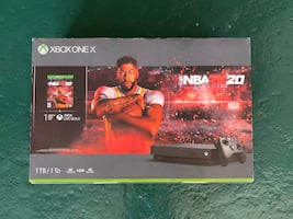 Xbox One X 1 TB + NBA 2K20 Special Edition Game BRAND NEW $450 Value