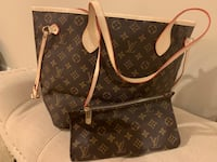 brown Louis Vuitton leather tote bag Ashburn, 20148